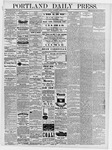 Portland Daily Press: March 15, 1878