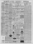 Portland Daily Press: March 19, 1878