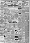 Portland Daily Press: March 21, 1878