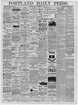 Portland Daily Press: March 25, 1878