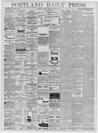 Portland Daily Press: March 26, 1878