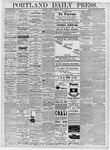 Portland Daily Press: April 1, 1878