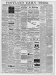 Portland Daily Press: April 3, 1878