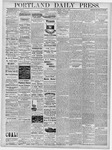 Portland Daily Press: April 6, 1878