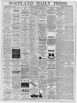 Portland Daily Press: April 9, 1878