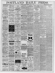 Portland Daily Press: April 11, 1878