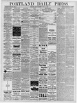 Portland Daily Press: April 15, 1878