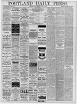 Portland Daily Press: April 19, 1878