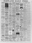 Portland Daily Press: April 20, 1878