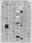 Portland Daily Press: April 22, 1878