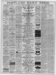 Portland Daily Press: April 23, 1878
