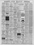 Portland Daily Press: April 26, 1878