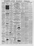 Portland Daily Press: May 2, 1878