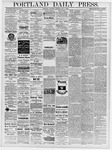 Portland Daily Press: May 9, 1878