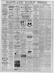 Portland Daily Press: May 15, 1878
