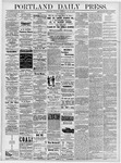 Portland Daily Press: May 16, 1878