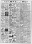 Portland Daily Press: May 18, 1878