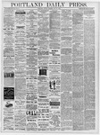 Portland Daily Press: May 20, 1878