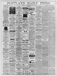 Portland Daily Press: May 25, 1878