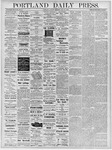 Portland Daily Press: May 28, 1878