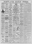 Portland Daily Press: June 1, 1878