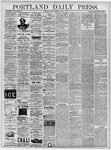 Portland Daily Press: June 7, 1878