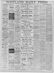 Portland Daily Press: June 21, 1878