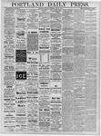 Portland Daily Press: June 27, 1878