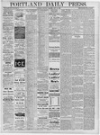 Portland Daily Press: June 29, 1878