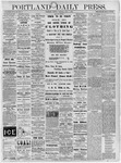 Portland Daily Press: July 1, 1878