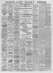Portland Daily Press: July 3, 1878