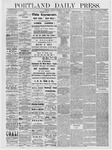 Portland Daily Press: July 13, 1878
