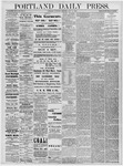 Portland Daily Press: July 18, 1878