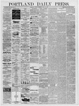 Portland Daily Press: July 23, 1878
