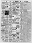 Portland Daily Press: July 25, 1878