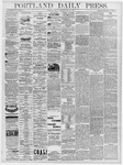Portland Daily Press: July 26, 1878