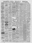 Portland Daily Press: July 31, 1878