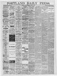 Portland Daily Press: August 9, 1878