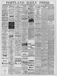 Portland Daily Press: August 12, 1878