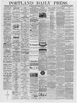 Portland Daily Press: August 19, 1878