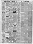 Portland Daily Press: August 28, 1878