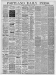 Portland Daily Press: August 29, 1878