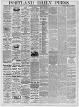 Portland Daily Press: September 2, 1878