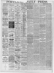 Portland Daily Press: September 3, 1878