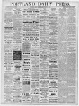 Portland Daily Press: September 10, 1878
