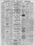 Portland Daily Press: September 11, 1878
