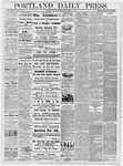 Portland Daily Press: September 13, 1878