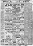 Portland Daily Press: September 19, 1878