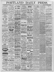 Portland Daily Press: September 20, 1878