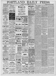 Portland Daily Press: September 21, 1878